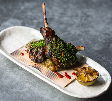 Miso Honey Lamb Cutlets