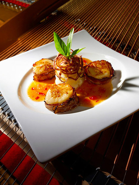 Scallop in Sweet and Sour Sauce